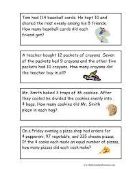 3rd grade multi step word problems worksheets worksheets