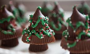 candy craft chocolate christmas trees made from reese u0027s peanut