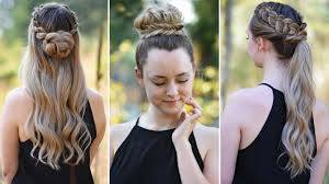 hairstyles quick and easy to do m 3 easy diy hairstyles back to school cute girls hairstyles