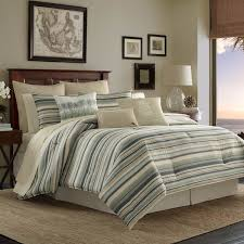 Overstock Duvet Tommy Bahama Canvas Stripe Duvet Cover Set Free Shipping Today