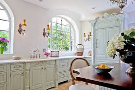 Cottage Chic Kitchen - country shabby chic kitchen houzz
