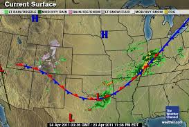 us weather map cold fronts enm weather april 2011