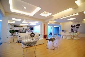 Impressive Ceiling Design Using Modern LED Strip Lighting For - Modern ceiling designs for living room