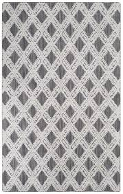 Black And Gray Area Rug Viscose Area Rugs Mirage Rug Collection Safavieh