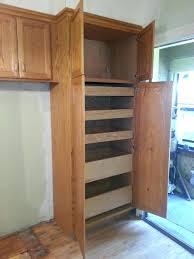 oak kitchen pantry storage cabinet unfinished wood pantry cabinet