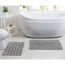 Silver Bath Rugs Better Homes And Gardens Chenille Noodle 2 Piece Bath Rug Set