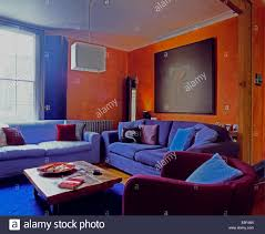 orange livingroom orange and purple room pleasing 50 purple bedroom ideas for