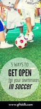 5 ways to get open for a pass in soccer global futbol training