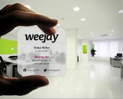 Clear Business Cards Plastic Business Cards Design And Printing