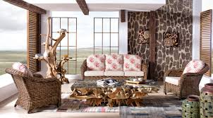 meubles en rotin salons
