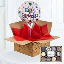 balloons in a box balloons in a box gift free uk delivery flying flowers