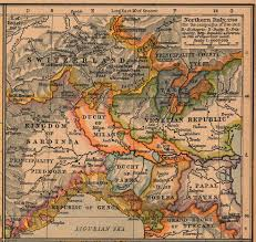 Map Of Northern Italy by Northern Italy Map 1796 For The Campaigns Of 1796 1805