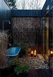 outdoor bathroom in the middle of the jungle bathroom ideas