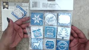 super cute winter christmas shaker tags dollar items gift
