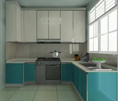 Latest Kitchen Furniture Green Color Modern Kitchen Cabinets Design Zooyer Wall With Wooden
