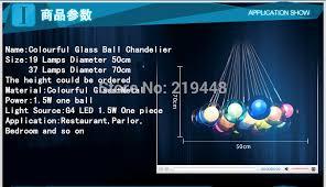 Chandelier Advertising Aliexpress Com Buy Restaurant Creative Chandelier Colored Glass