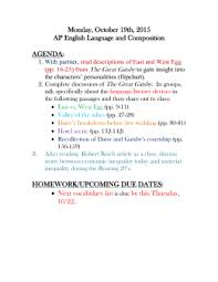 the great gatsby literary devices worksheet ch 1 u2013 exemplar