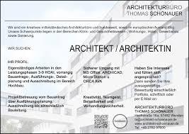 stellenmarkt architektur stellenangebot für architekt architektin in wenden fakultät ii