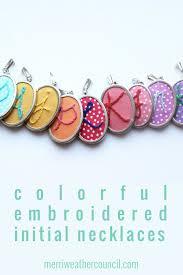 Personalized Initial Jewelry Custom Hand Embroidery Personalized Initial Jewelry U2013 The