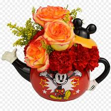 minnie mouse s day floral design mickey mouse minnie mouse flowering tea s