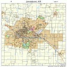 map of jonesboro ar jonesboro arkansas map 0535710