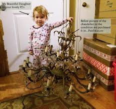 How To Refurbish A Chandelier Learn How To Restore Old Antique Brass Chandeliers Like The Pros