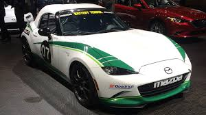 Jeremy Barnes Mazda Mazda Mx 5 Hardtop Cup Race Car At Detroit Auto Show Youtube