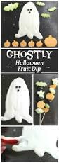 ghostly halloween fruit dip u2013 yet another healthy halloween treat