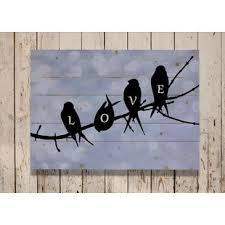 birds on branch wall decor wayfair