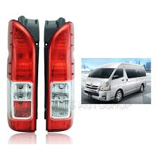toyota hiace 2015 l r rear tail lamp light fit toyota commuter hiace d4d ventury van