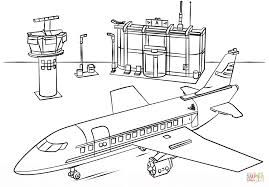 lego airport coloring free printable coloring pages