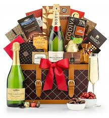 gift basket chagne wishes chagne gift basket