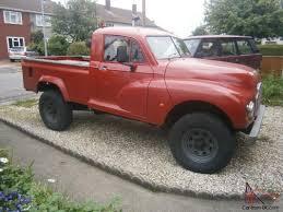 Morris Minor Landrover Pickup