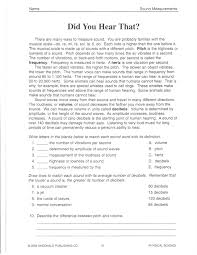 science sound worksheets free worksheets library download and