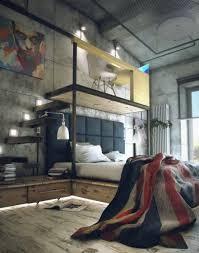 chambre ado industriel chambre de style industriel 28 idées pour une chambre chic et urbaine