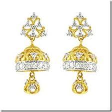 kerala style jhumka earrings info bee kerala gold