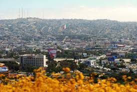 San Diego Six Flags The Mexican Flag In Tijuana Can Be Seen Prominently From The U S