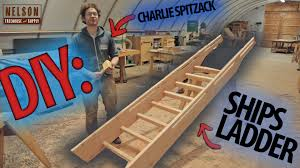 How To Build A Garage Loft Diy How To Build A Ships Ladder Youtube
