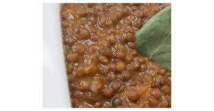 cuisiner sans viande lentilles cuisinées sans viande par zazaonestar une recette de