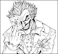 batman joker coloring pages free printable batman coloring