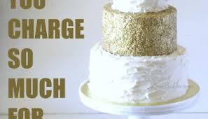 cost of wedding cake behance