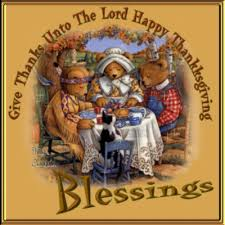 give thanks unto the lord happy thanksgiving blessings pictures