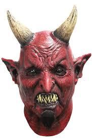 Halloween Costume Goatee Azogh Khan Satin Devil Mask Goatee Horns Imaginations