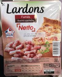 cuisine de reference gratuit lardons sans couenne fumés netto 200 g
