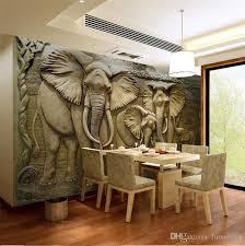 elephant living room 3d elephant wallpaper murals for living room wall art decor