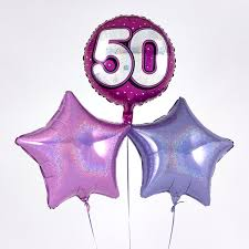balloon delivery service drogheda and explore our range of 50th birthday balloons from 99p
