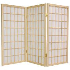 temporary room dividers oriental furniture window pane 36 inch tall shoji room divider
