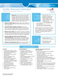quality control resume bunch ideas of qa analyst resume with quality assurance specialist