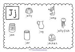 preschool letter j activities and worksheets little dots
