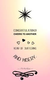 wedding wishes logo congratulations cheers to another year of suffering and misery